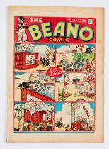 Beano No 56 (Aug 19 1939). Bright cover, cream/light tan pages witih a few margin foxing