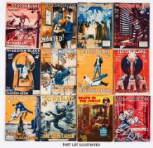 Sexton Blake Library (2nd Series 1927-28) 83, 84, 86-88, 91, 93, 96, 102, 108, 110, 111, 113-116,