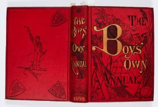 Boy's Own Annual (1899) 1029-1081. Twenty-First Anniversary year. Hunted Through The Frozen