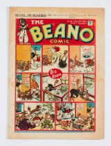 Beano No 83 (Feb 24 1940). Propaganda war issue. Wild Boy of the Woods destroys a German bomber,