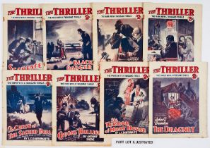 The Thriller (1931-32) 30 issues between 100-204 and (1936-37) 367, 379, 388, 437 with stories by
