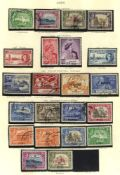 BRITISH COMMONWEALTH KGVI U collection housed in The Printed Album, incl. full sets, but mainly part