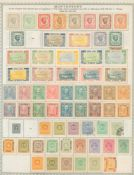 BALKANS M & U collection on printed leaves from Montenegro, Romania, Serbia & Yugoslavia,