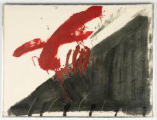 """Antoni Tapies (Spanish, 1923-2012) """"Quatre Ditades"""""""