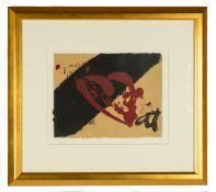 Antoni Tapies (Spanish, 1923-2012) Etching