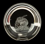 Steuben Glass Beaver/ James Houston