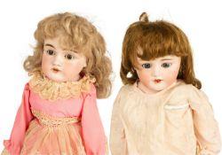 German J.D. Kestner and Simon & Halbig Bisque Dolls