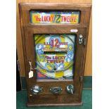 Allwin Lucky Twelve on old 1d play, with keys.