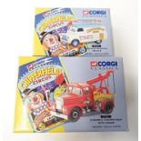 2 Corgi Classics Chipperfield Circus vehicles - 96905 Advance Booking Vehicle and 97886 Scammell