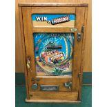 Win a Spangle Allwin on 1d coin.