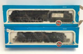 2 x Airfix locomotives - 54122-6 4F Fowler 4454 LMS Livery and 54121-3 Royal Scot 46100 BR Livery.