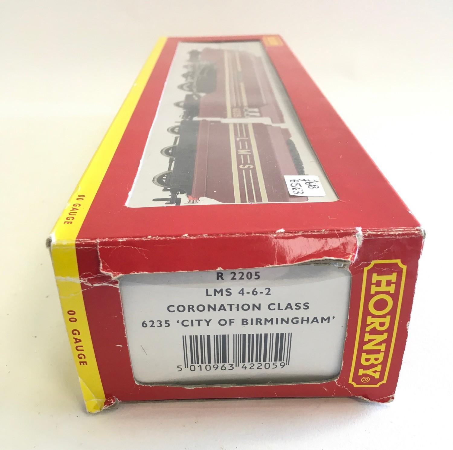 Hornby R2205 LMS 4-6-2 Coronation Class 6235 ?City of Birmingham?. Appears Excellent in Good box. - Image 2 of 3