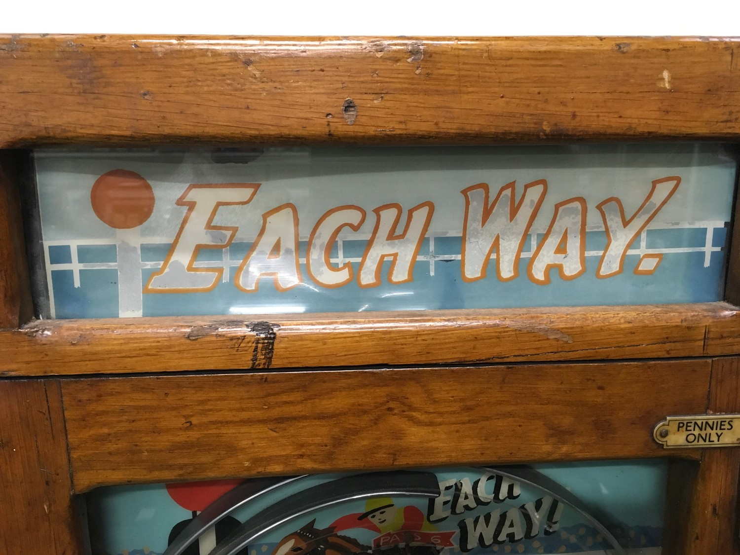 Eachway Allwin with keys on 1d coin. - Image 5 of 8