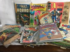 Collection of comics to include Marvel Howard the Duck, ACG Unknown World, Simpson?s Comics and