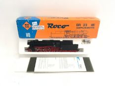 Roco 04120 A Steam locomotive #23105 German 2-6-2 Black. Appear Excellent, boxed.