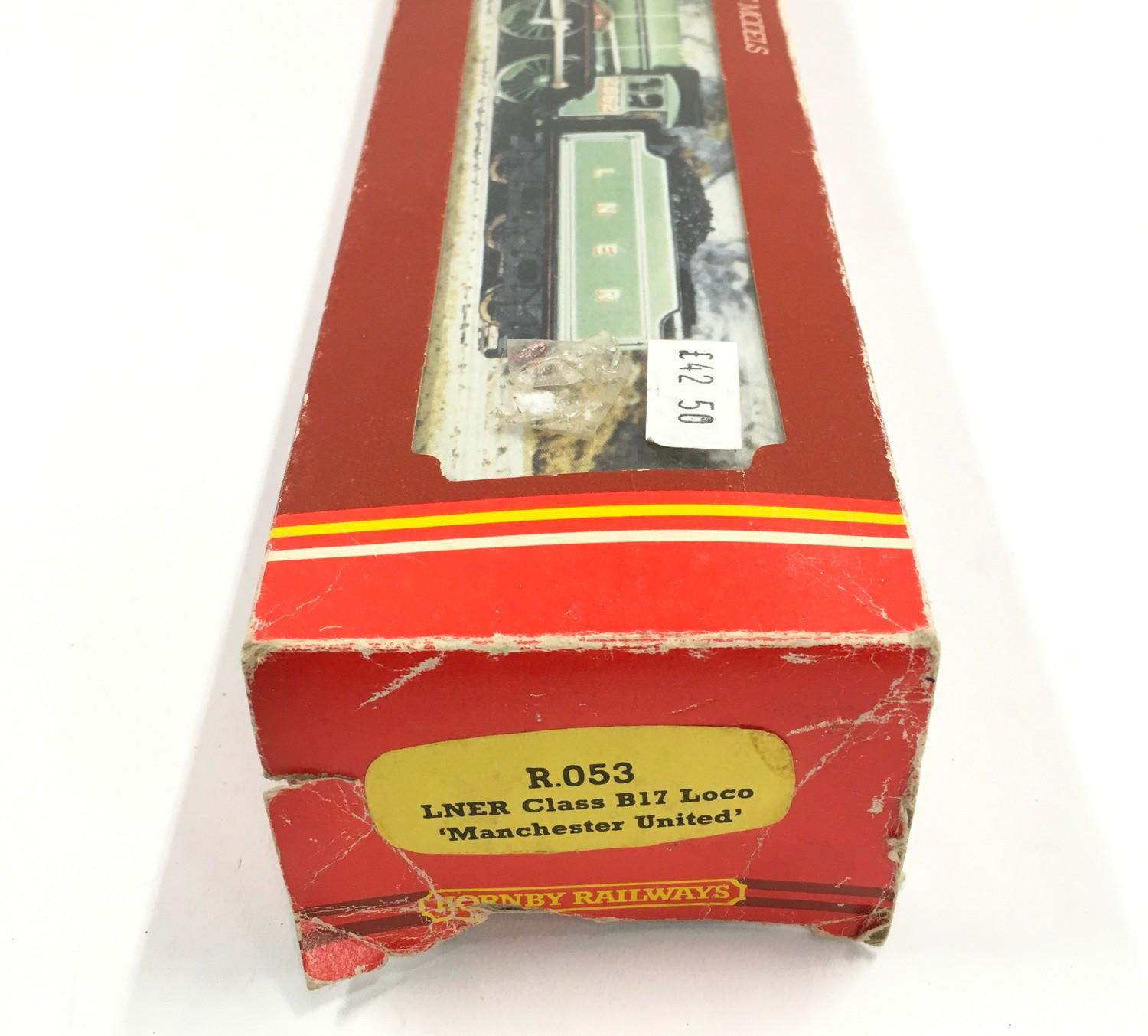 Hornby R053 LNER Class B17 locomotive ?Manchester United? - boxed. - Image 3 of 3