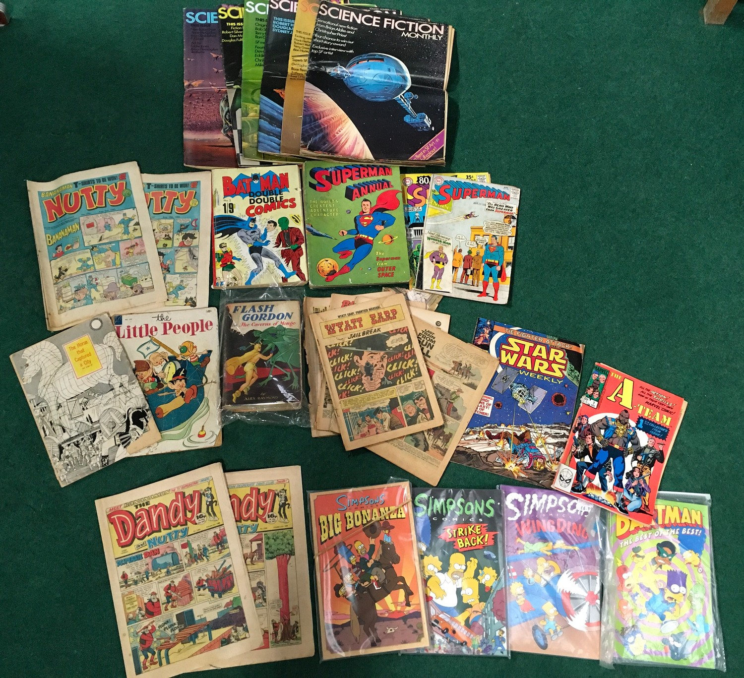 Collection of comics to include Marvel Howard the Duck, ACG Unknown World, Simpson?s Comics and - Image 2 of 5