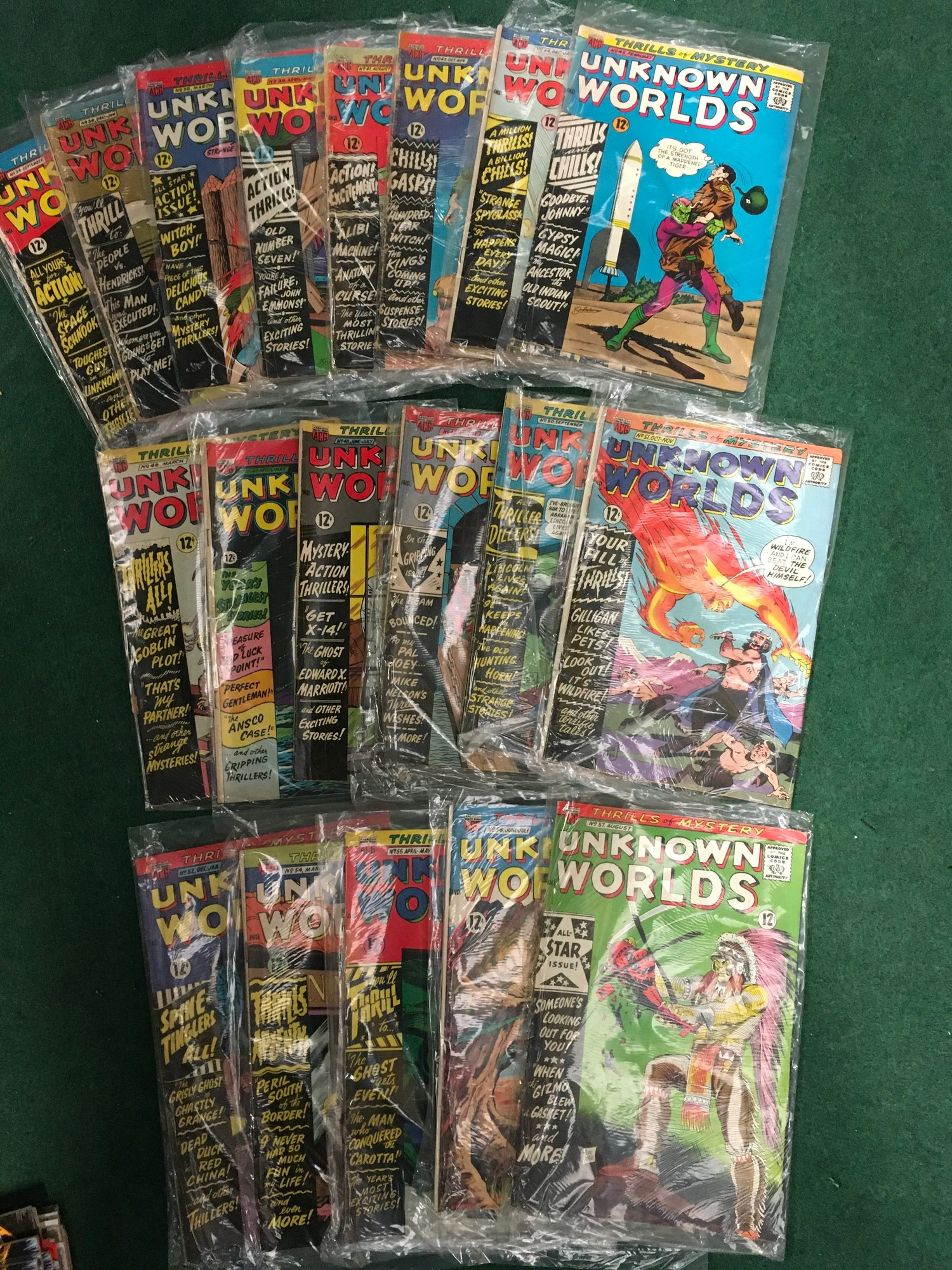 Collection of comics to include Marvel Howard the Duck, ACG Unknown World, Simpson?s Comics and - Image 4 of 5