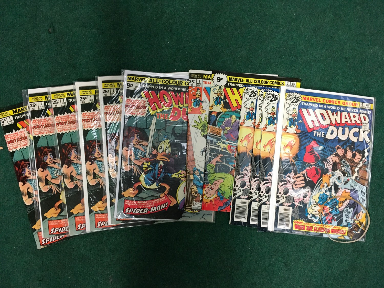 Collection of comics to include Marvel Howard the Duck, ACG Unknown World, Simpson?s Comics and - Image 3 of 5