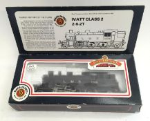 Bachmann 31-453 Ivatt 2-6-2 Tank 1206 LMS Unlined Black. Appears Excellent in Fair Plus box.