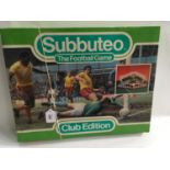 Subbuteo The Football Game Club Edition set. Seems complete but not checked.