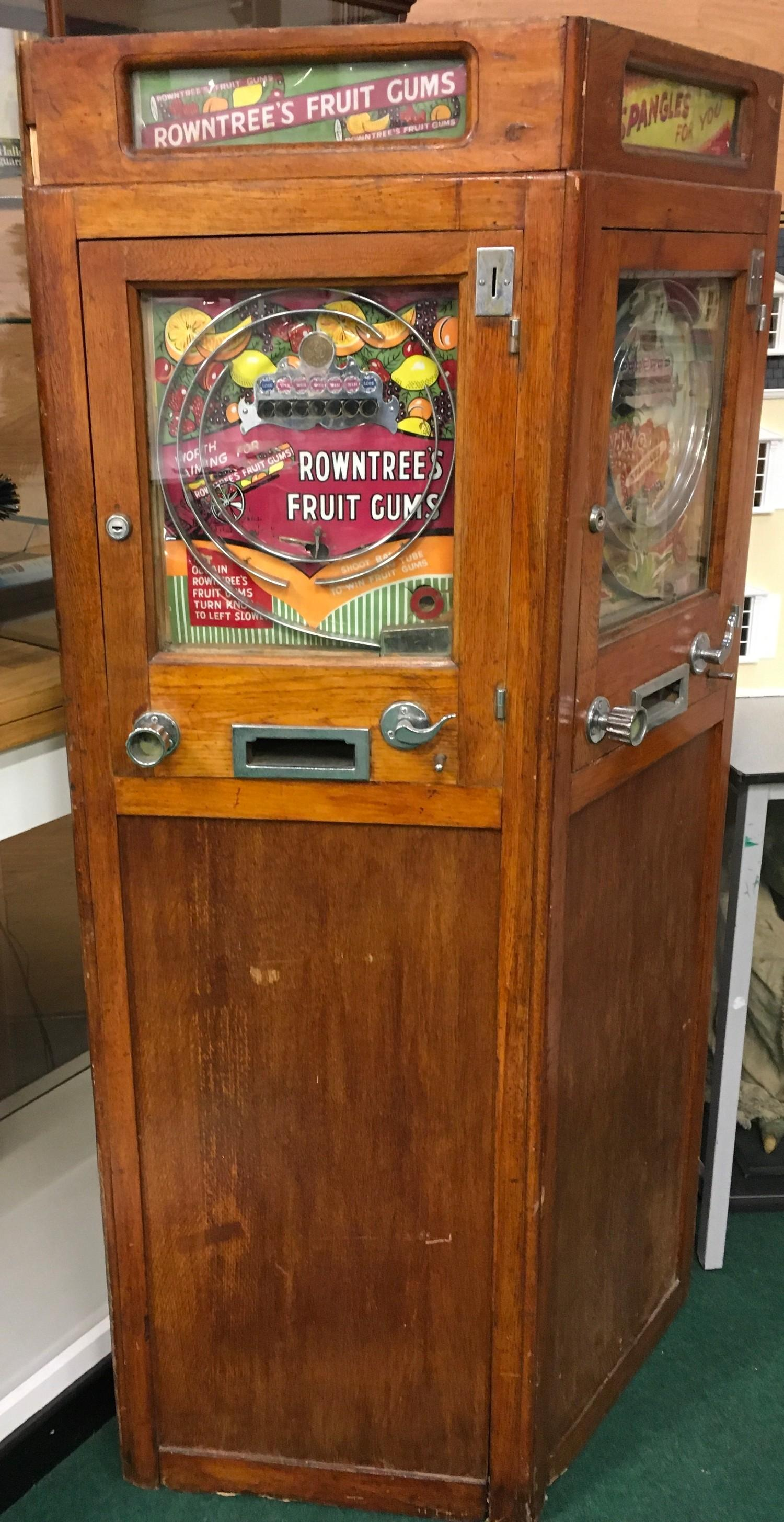 Ruffler & Walker Allwin 3 in 1 case slot machine. Originally working on old 1d But - Image 2 of 6