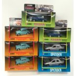 Corgi classics TV and film related models - 2 x 96757 Lovejoy Morris Minor, 2 x 96012 Spender Ford