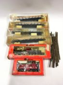 Rivarossi 1211 Old Timer Virginia & Trucker locomotive - Appears Good Plus in Poor box together with