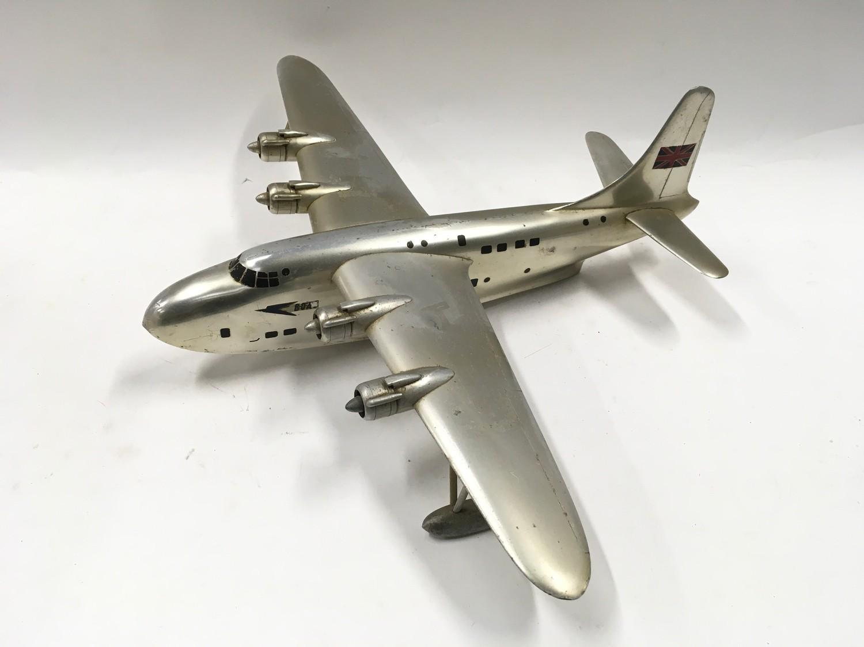 Boac seaplane display model. - Image 3 of 4
