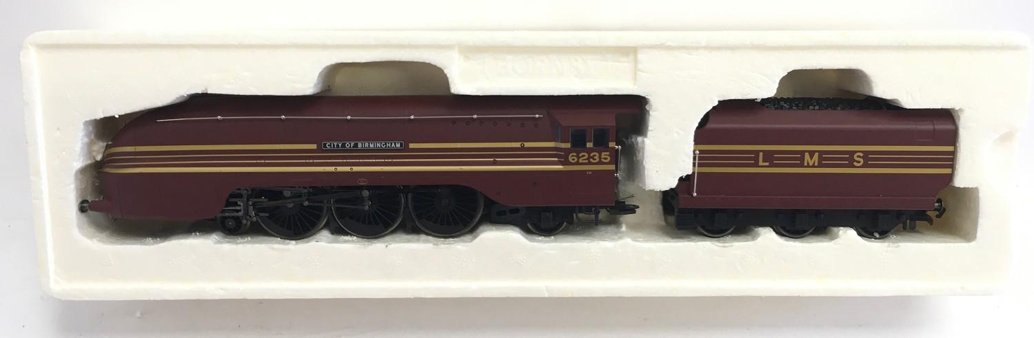 Hornby R2205 LMS 4-6-2 Coronation Class 6235 ?City of Birmingham?. Appears Excellent in Good box. - Image 3 of 3