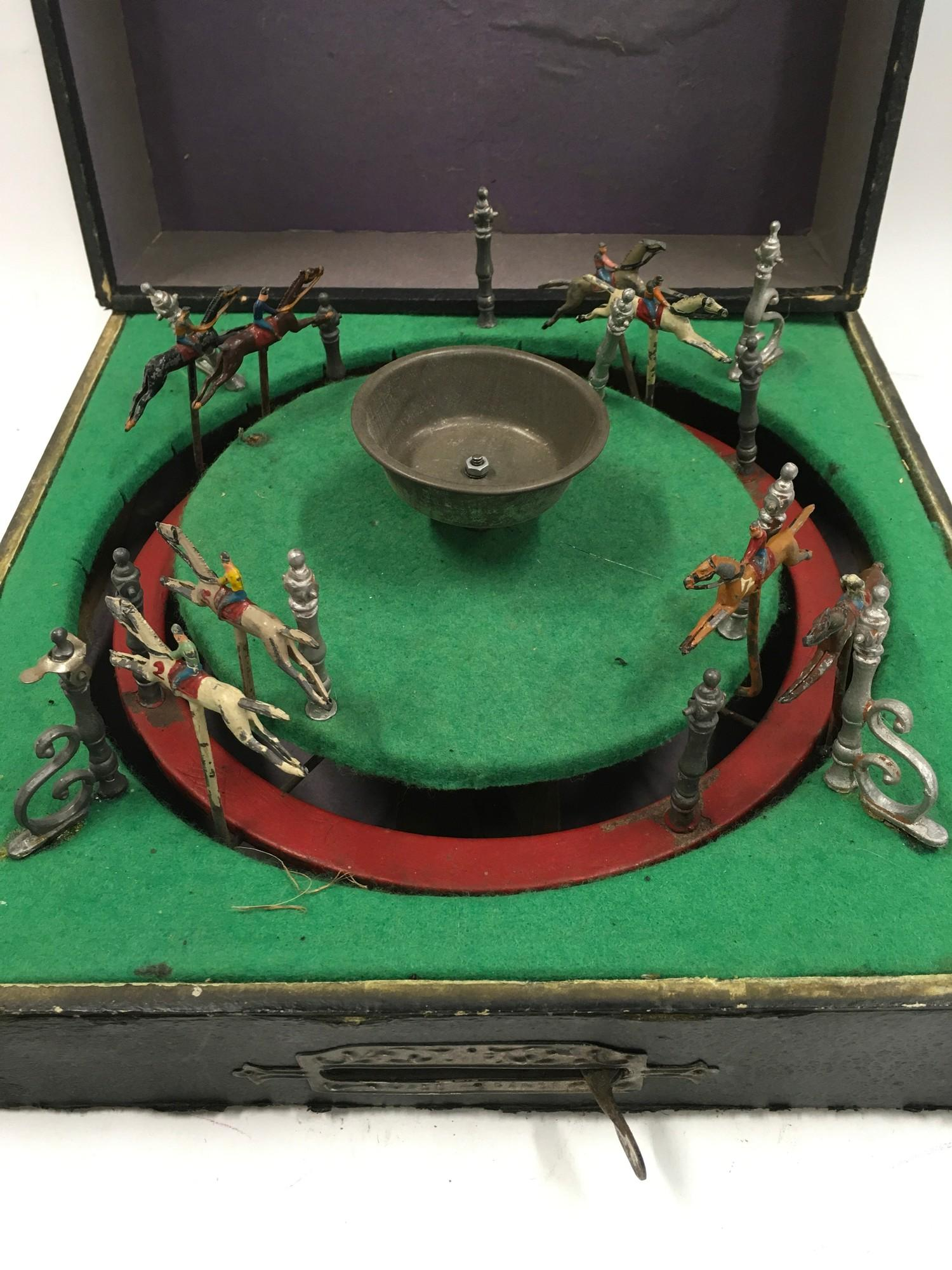 French horse racing game - Approx 1920?s boxed. - Image 2 of 3