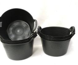 10 x 14l trug buckets. (ref 127)