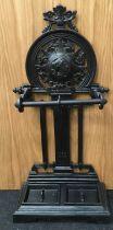 A Victorian umbrella stand. (ref173)
