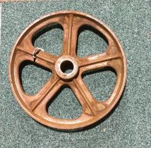 "14"" diameter cast wheel. Ref 185"