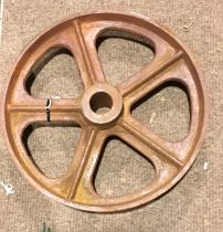 "14"" diameter cast wheel. Ref 186"