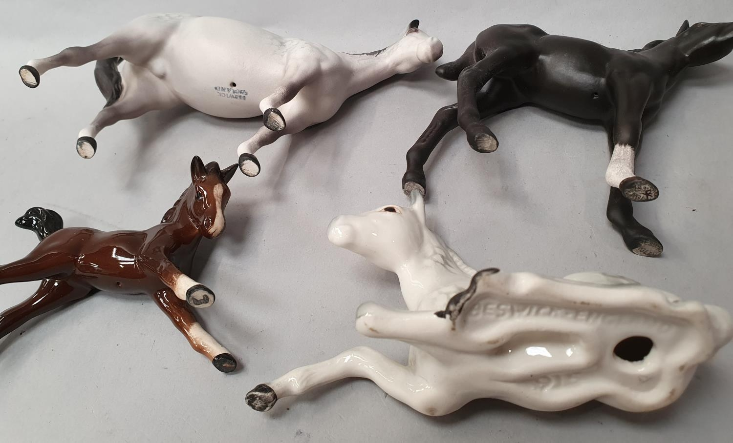 Four assorted Beswick horses. - Image 6 of 6