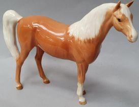 Beswick palomino horse.