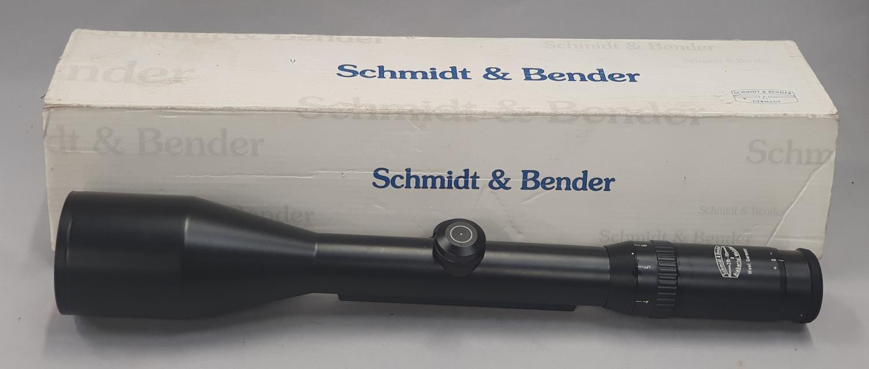 Schmidt & Bender 3x12x56 scope boxed.