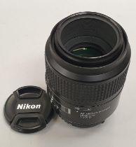 Nikon AF 105mm lens