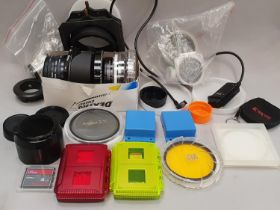 Various filters and memory card qty of