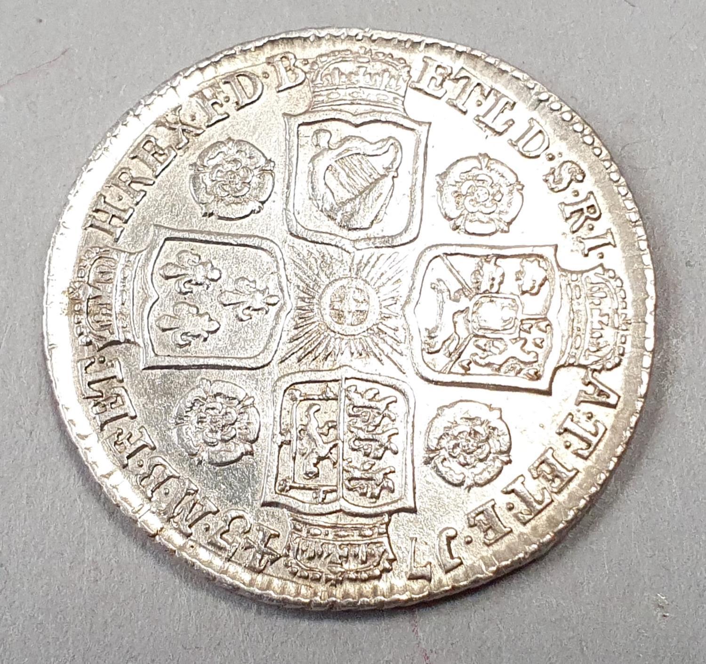 George VII 1743 Shilling.