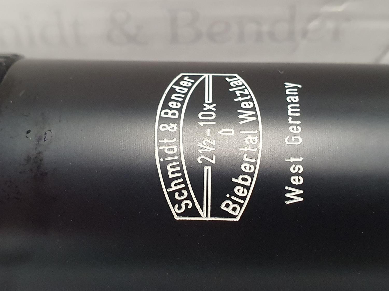 Schmidt & Bender 3x12x56 scope boxed. - Image 2 of 7