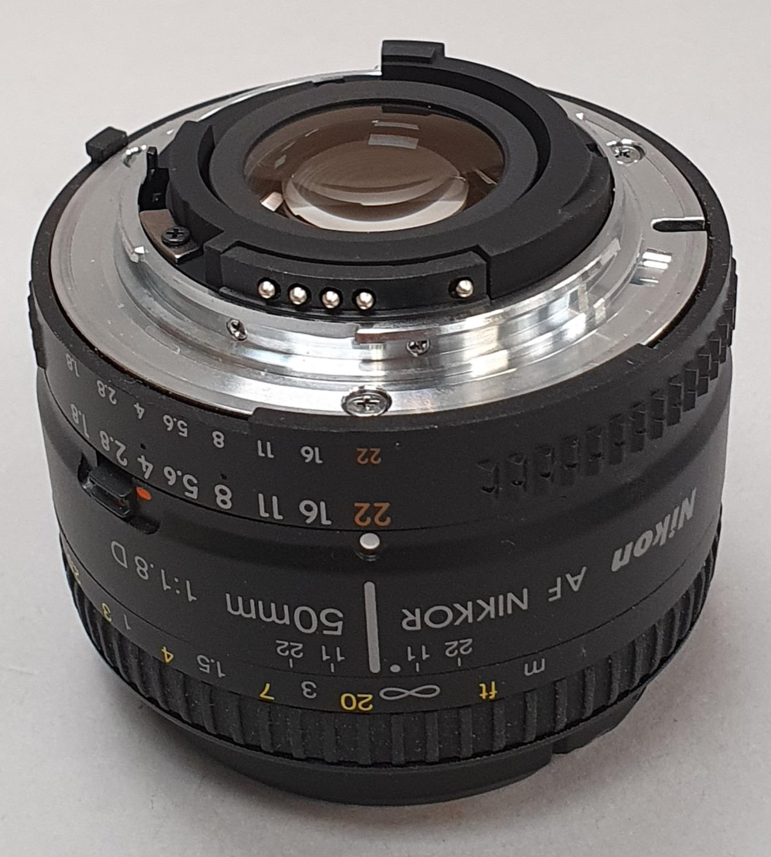 Nikon 50mm camera lens - Image 2 of 4