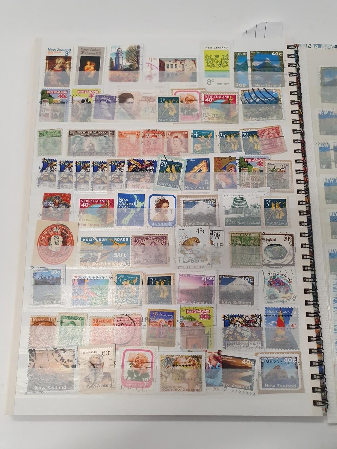 A multi-coloured stamp album 233 New Zealand. - Image 2 of 2