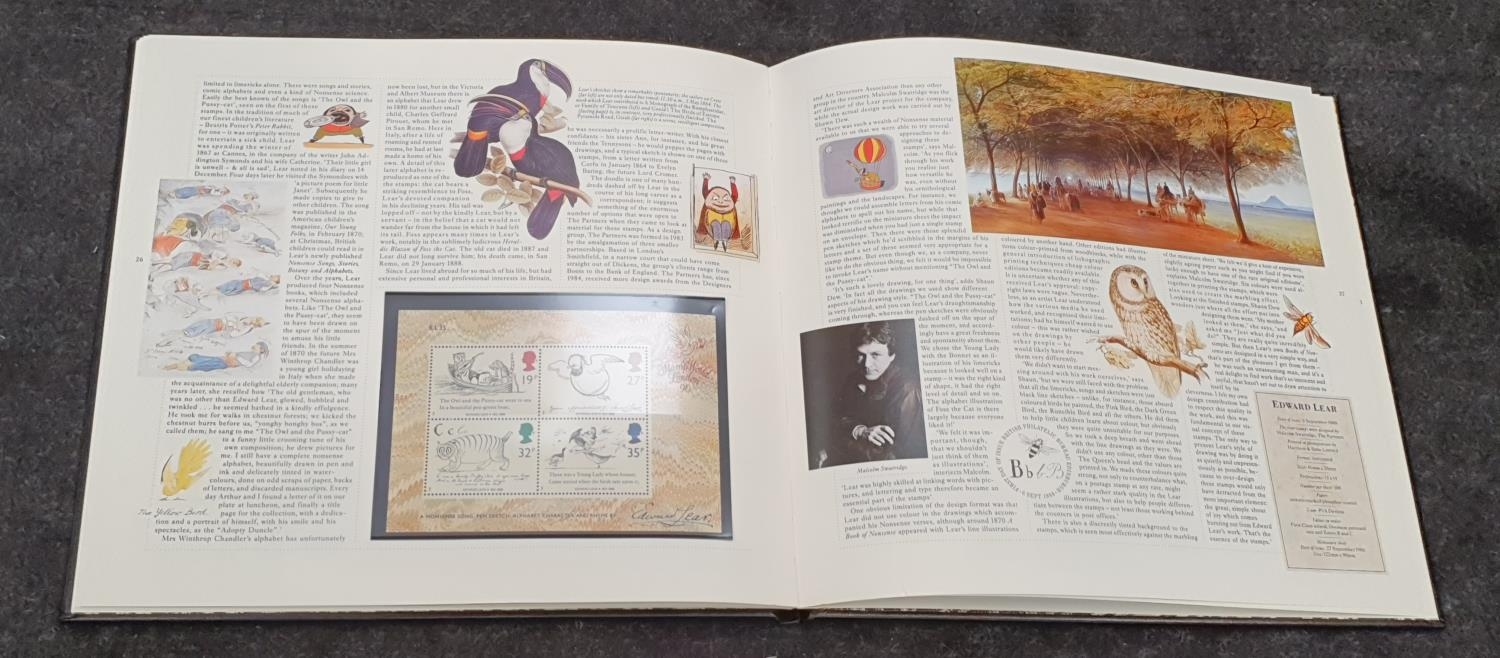 Set of sixteen Royal Mail albums of special stamps. - Image 4 of 7