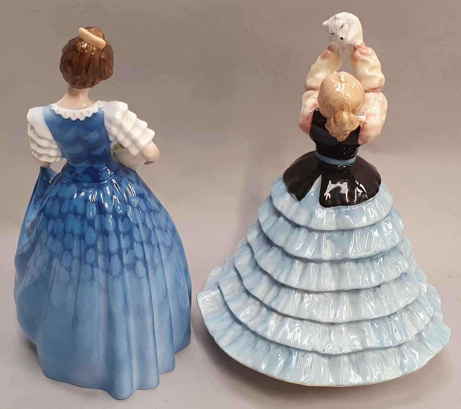 Two Royal Doulton lady figurines H.N. 2952 Susan and H.N. 3601 Helen. - Image 3 of 5