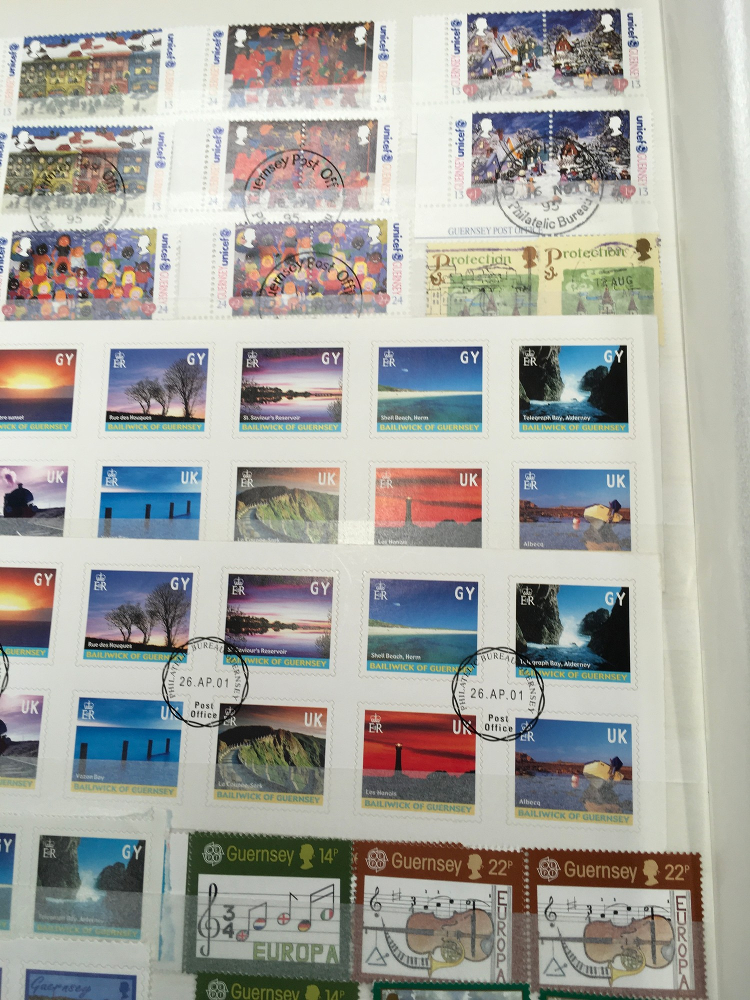 3 x Albums containing Channel Islands, Jersey Guernsey and Alderney over £800 in mint stamps. - Image 3 of 21