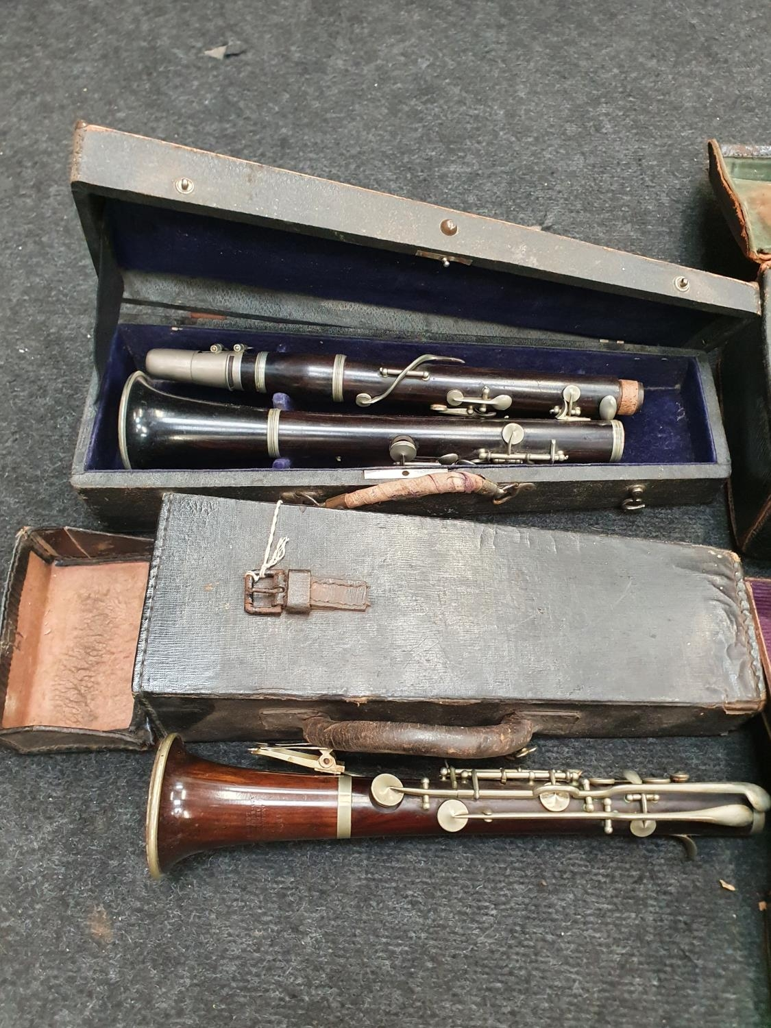 Case of vintage clarinets. - Image 6 of 6