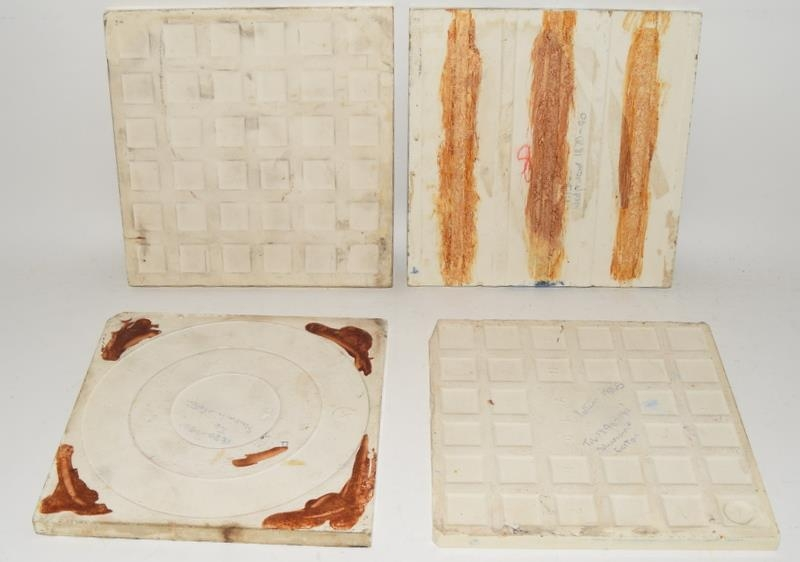 """Transfer printed tiles to include examples by Wedgwood, Sherwin & Cotton, each tile 6"""" x 6"""" (4) - Image 11 of 12"""