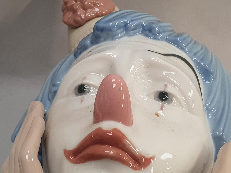 Lladro clown head 31x16x15cm. - Image 7 of 7
